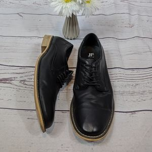 Jf J.Ferrar Black Lace-up SWARTZ Oxfords Size 11M